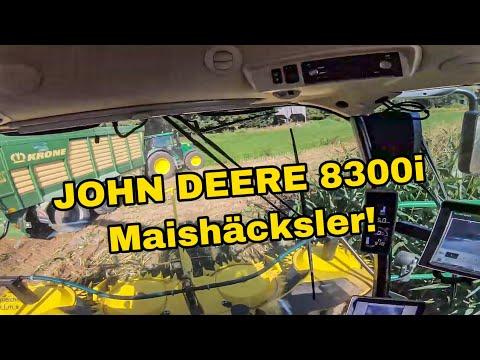 let's-drive-john-deere-8300i-beim-maisäckseln-2019-teil1