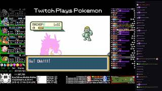 Twitch Plays Pokémon Anniversary Burning Red - Hour 191 to 192