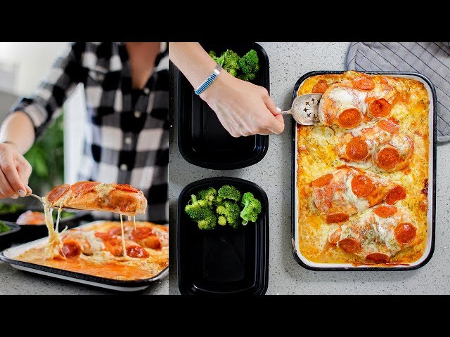 Pizza Chicken Meal Prep | Keto | Gluten Free Recipe