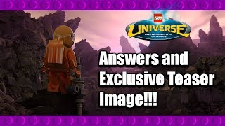 LEGO Universe Q+A and Exclusive Teaser Image!!!