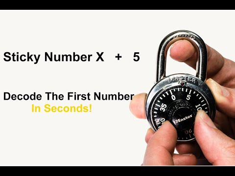 [257] How To Decode The FIRST Number To A Dial Combination Lock