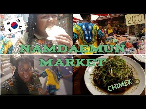 VLOG KOREA: TRIP TO NAMDAEMUN MARKET