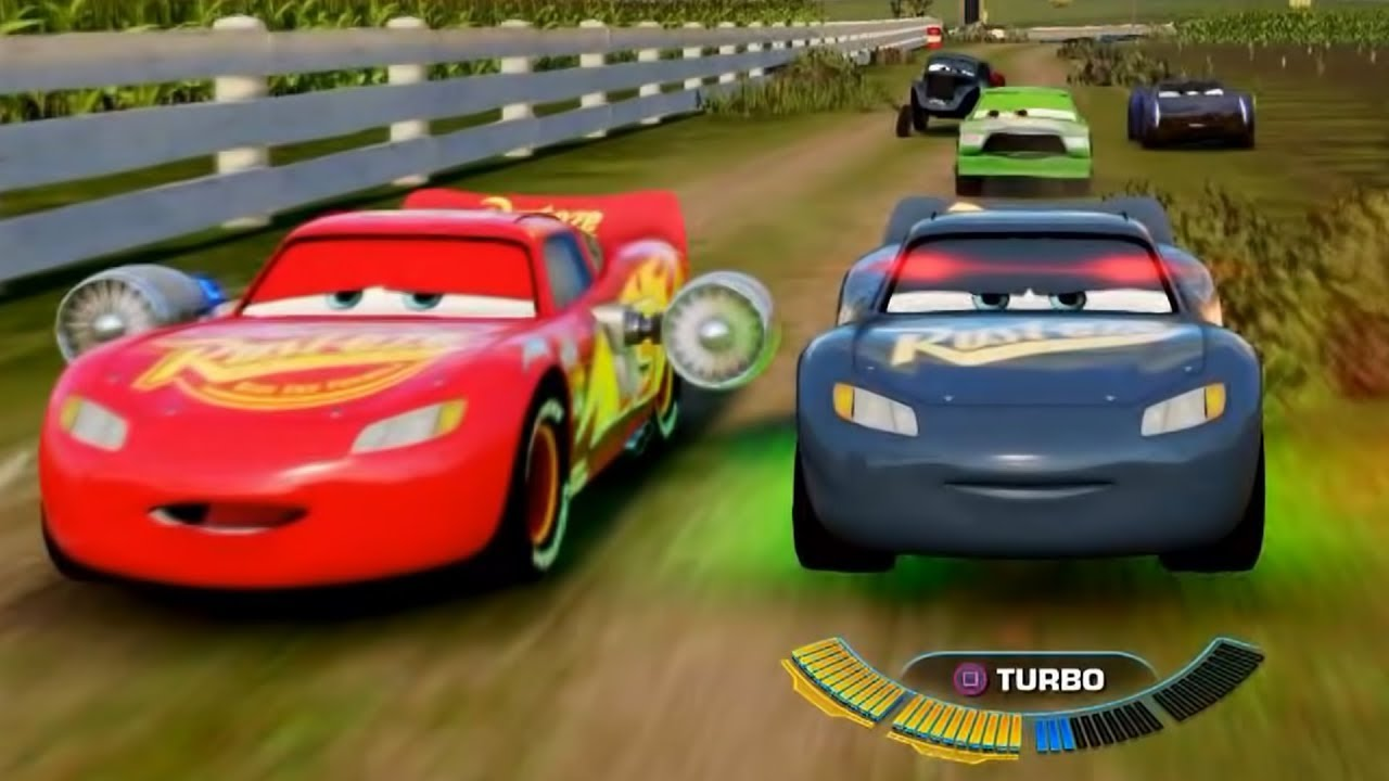 Cars 3 Driven to Win Gameplay Lightning McQueen Custom Race Cup ...