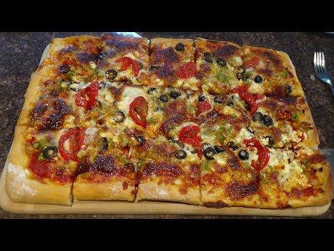Feta Tomato Pizza