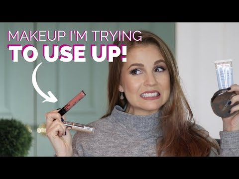 Makeup I Want To Use Up BEFORE 2019 Is Over! thumbnail