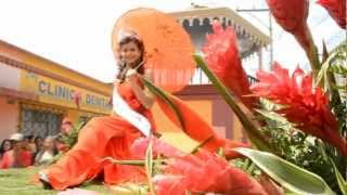 Desfile de Carrozas con las Bellezas de San Juan Sacatepéquez  2012 Parte 1