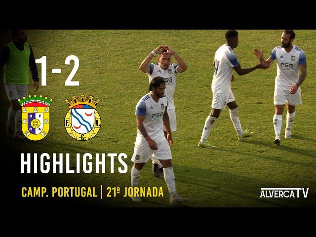 U. Almeirim 1-2 FC Alverca | Highlights
