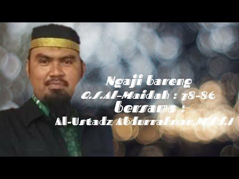 murottal-merdu-||-surah-al-maidah-||-al-ustadz-abdurrahman,s.pd.i,m.pd.i