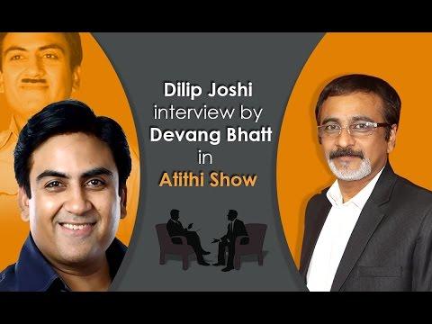 Best Comedy Actor Dilip Joshi (Jethalal) Interview with Devang Bhatt