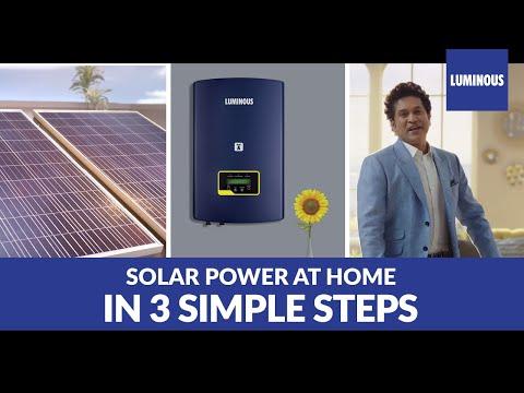 Luminous Solar TVC : 1-2-3  Power