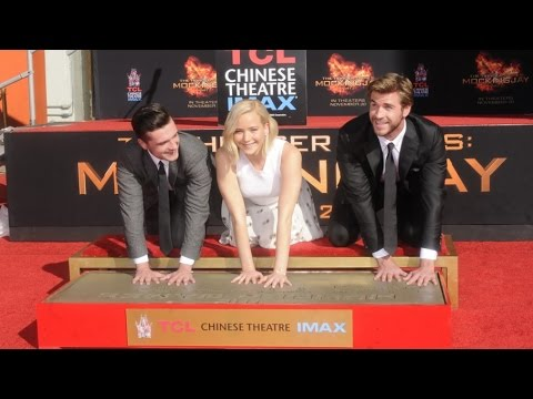 The Hunger Games Imprint Ceremony at TCL Chinese Theatres