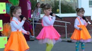 Поют маленькие девочки!!! Детская песня - Ёжик