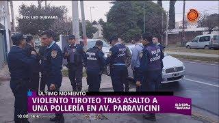 Tiroteo en Av. Parravicini generó confusión en B° Centroamérica