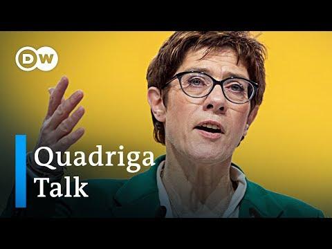 Merkel's Successor: Next German Chancellor?   DW Quadriga