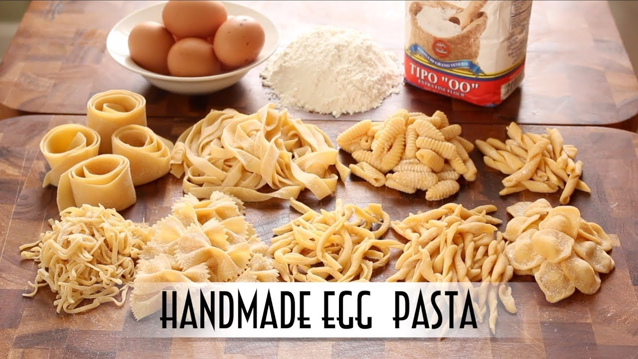 How to make 29 handmade pasta shapes