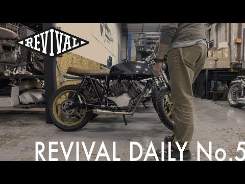 STOLEN! Custom Moto Morini // Revival Daily No. 5