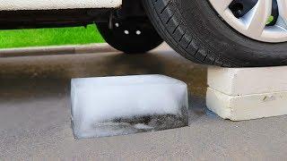 Crushing Crunchy & Soft Things by Car! CAR vs ICE