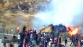 Прорыв участников хамасовского ''марша'' через границу Газы