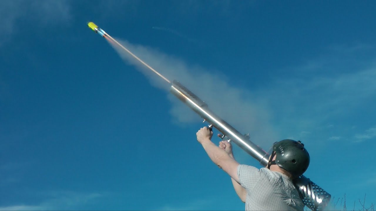 Firework Rocket Launcher Youtube