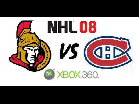 NHL 08 - Ottawa Senators vs Montreal Canadiens - Eastern Conference Finals Game 2