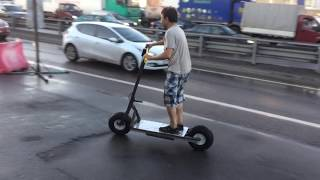 Электросамокат своими руками How To Make A Electric Scooter