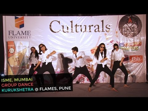 Dance Routine On 'Lean On' by ISME College Students | FLAME Kurukshetra 2017