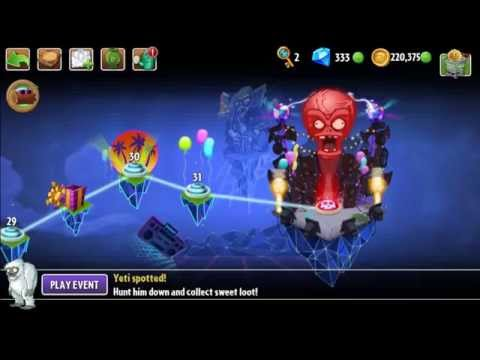 Plants vs Zombies 2 - Neon Mixtape Tour Day 32
