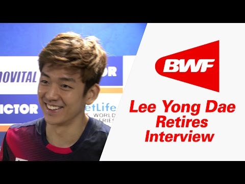 Lee Yong Dae Retires : An Interview – Victor Korea Open 2016 | Badminton