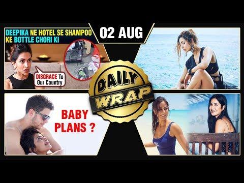 Priyanka Nick Baby Plans, Deepika Steals Shampoo Bottles, Katrina Kaif Bikini Pics | Top 10 News
