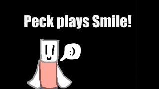 PeckOnAJ plays Smile!   Roblox