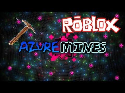 Roblox: Azure Mines GOLD PICKAXE