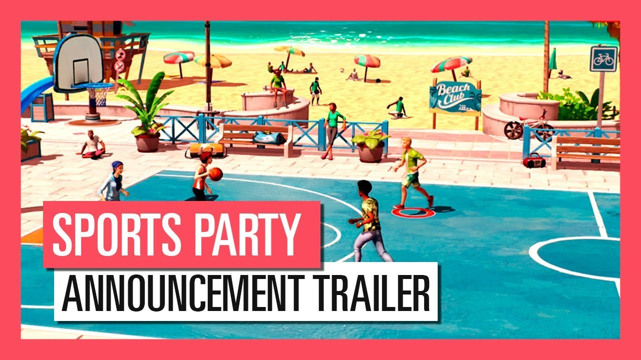 sports party announcement trailer youtube