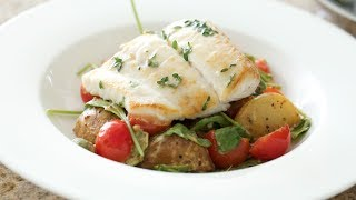 Pan Roasted Halibut | Byron Talbott