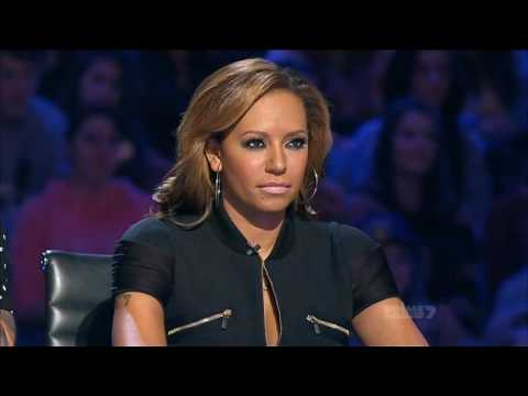 Xfactor 2012 Aus Auditions D & D sing Go little bad girl