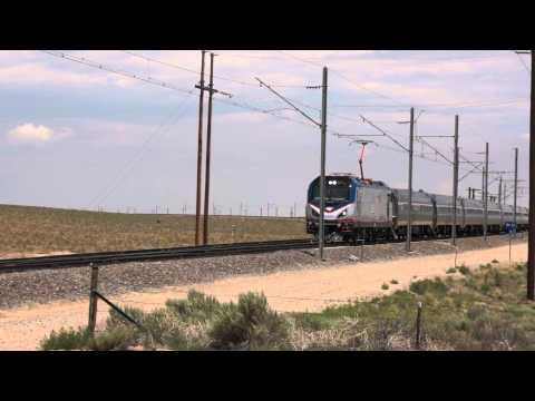 Amtrak ACS-64 #601 At TTCI (Pueblo, CO)