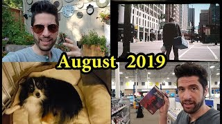 August 2019 - Journal/Vlog