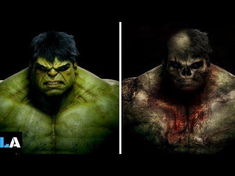Superheroes As Zombies Version - Superheroes As Monsters/Zombies