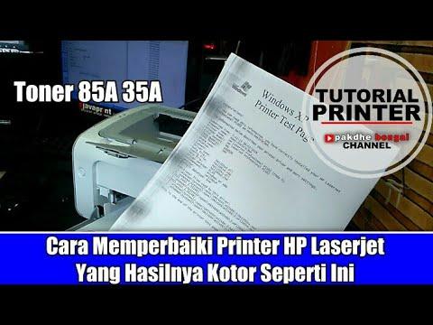 Cara Memperbaiki Printer Hp Laserjet Yang Hasil Print Nya Kotor