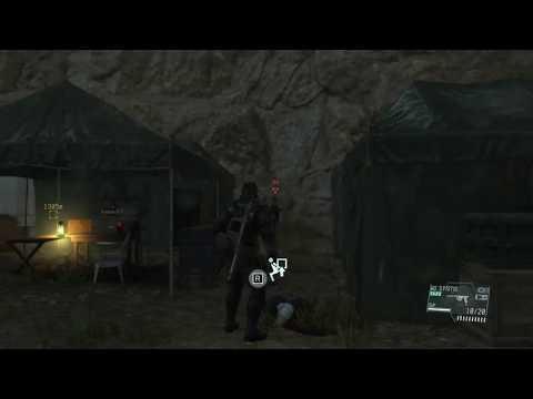 Metal Gear Solid V 9 sec gameplay