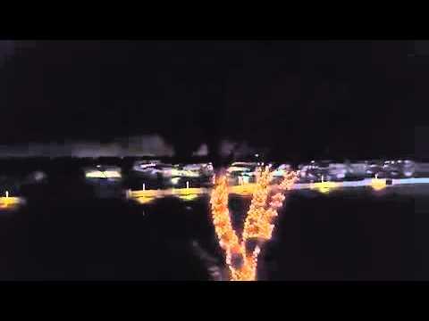 Large Tornado Hits Rowlett, Texas