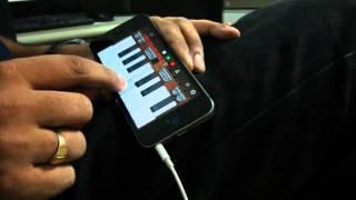 iPhone GarageBand   Matargashti   Tamasha   Instrumental Cover   Listen with Headphones