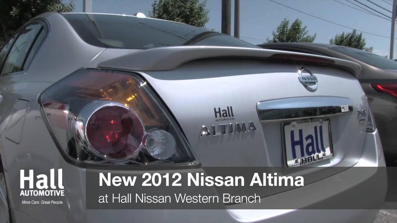 Hall Nissan Chesapeake >> New 2012 Nissan Altima Video At Hall Nissan Chesapeake Chesapeake Va