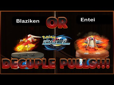 OPENING 3 DECUPLES! - NEW BANNER BLAZIKEN/ENTEI (SORRY FOR THE SOUND!)