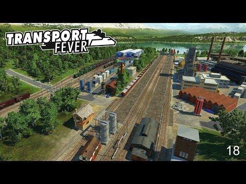 TRANSPORT FEVER - STAFFEL 01 #18 🚂 Die deutsche Industrie gewinnt an Fahrt [Deutsch/HD]