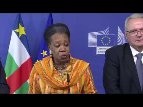Conférence de Bekou sur la République centrafricaine: conférence de presse conjointe