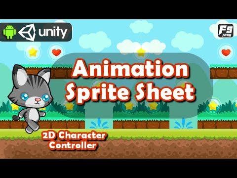 Unity 2d Animation From Sprite sheet ( Hindi / Urdu )