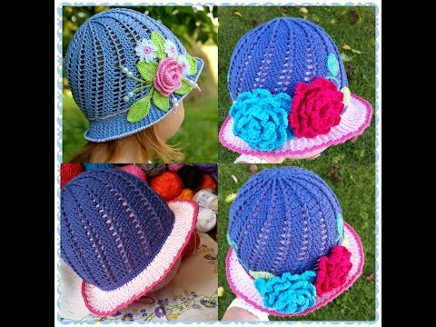 Little Girls Cloche Hat Part 2 from YouTube · Duration:  16 minutes 46 seconds