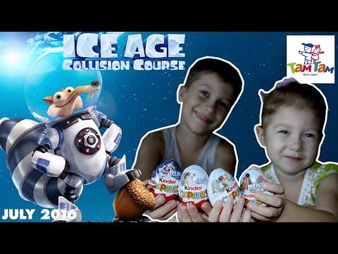 Киндер Сюрприз Ледниковый Период Столкновение Неизбежно Kinder Surprise Ice Age Collision Course