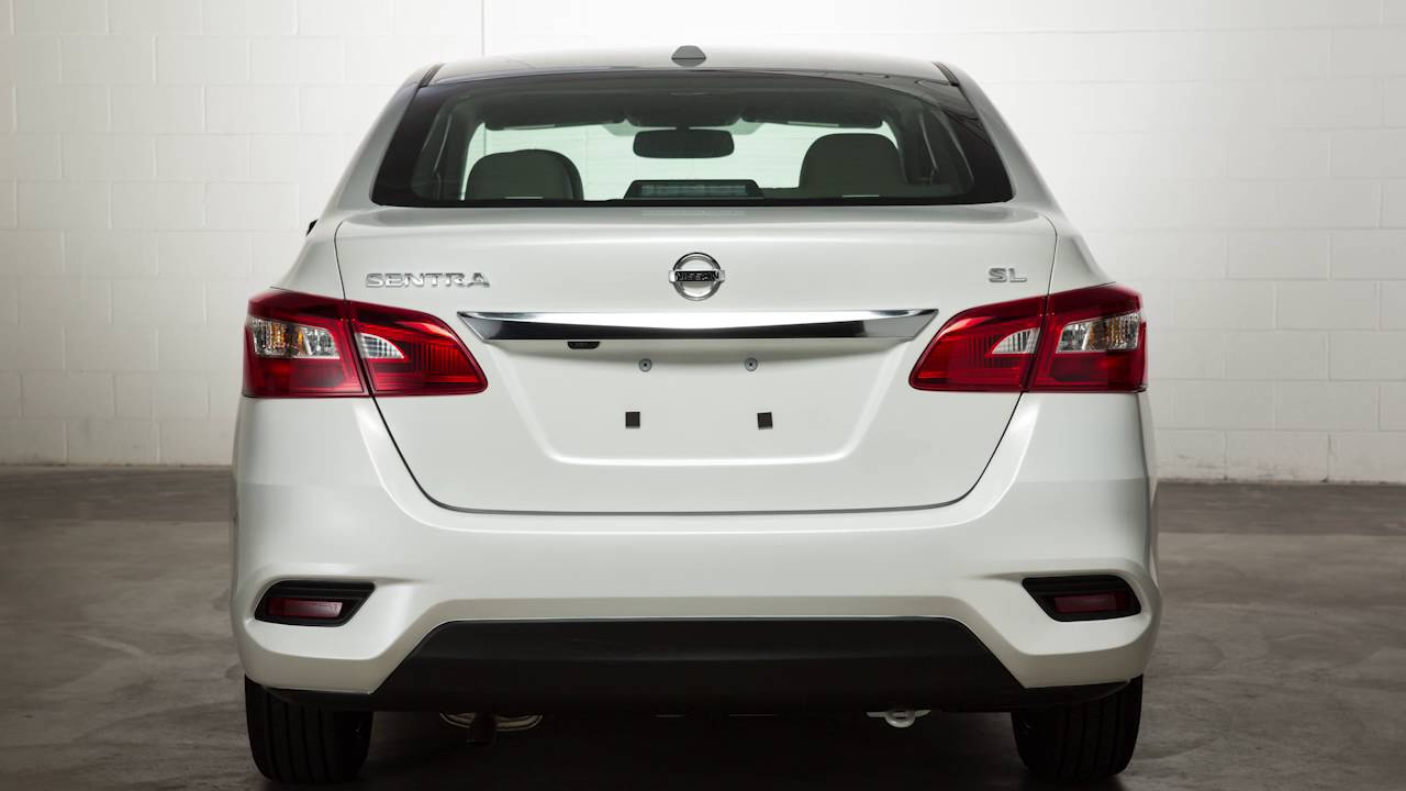 2017 Nissan Sentra Trunk Release Youtube