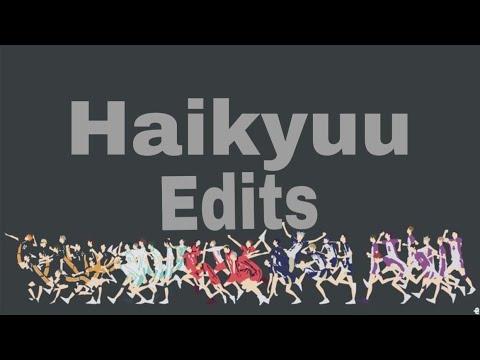 Haikyuu Edits/ oi Suko